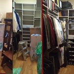 Closet Move in Before & After